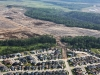 Aerial shots of Heritage at Parsons Creek at the early stages of development.